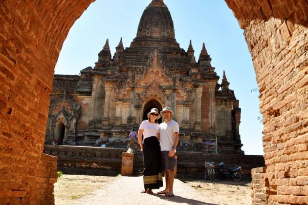 A brief taste of myanmar honeymoon
