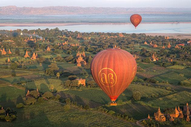 Bagan - myanmar tourist attractions