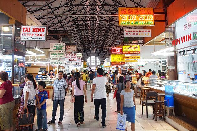 Bogyoke Aung San (Scott) market in Yangon