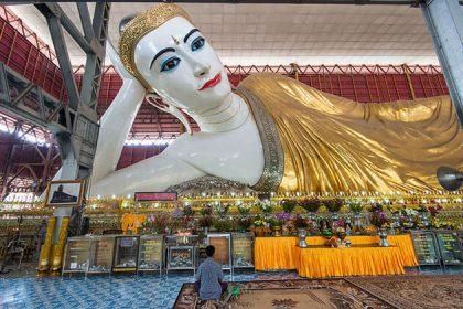 Chauk Htat Gyi Pagoda - myanmar trip from india