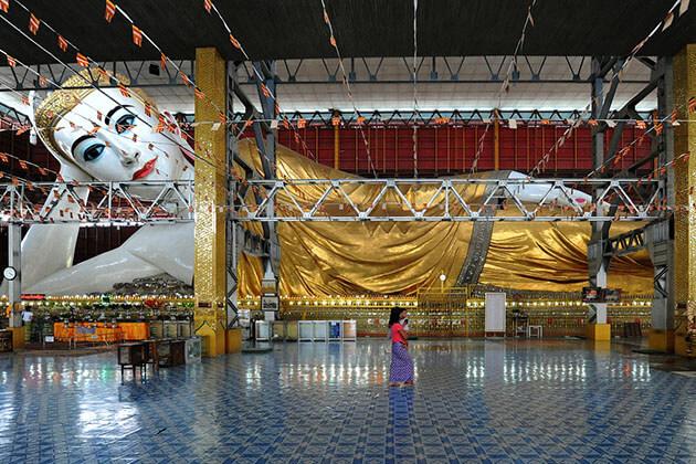 Chauk htat gyi pagoda - myanmar honeymoon tour