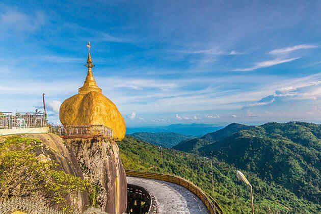 Golden Rock in Myanmar