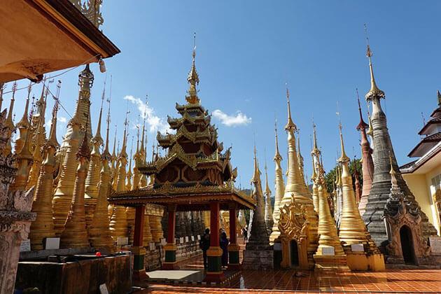 Inn Thein Pagoda complex