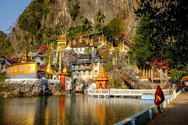 Kayin State in myanmar