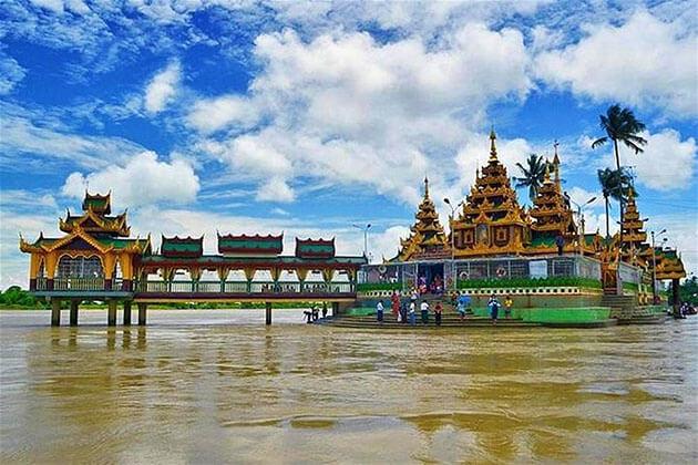 Kyaikmawwin (Yele) Pagoda in Thanlyin