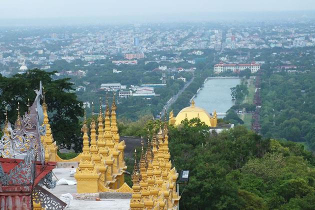 Mandalay hill - history of myanmar
