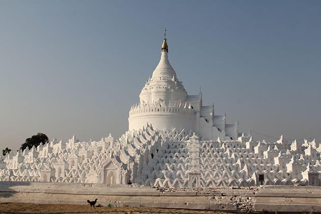 Mingun - main attraction in mandalay for myanmar tourism