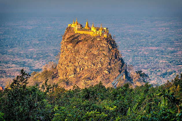 Mount Popa - day trip from Bagan