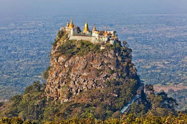 Mount Popa panorama