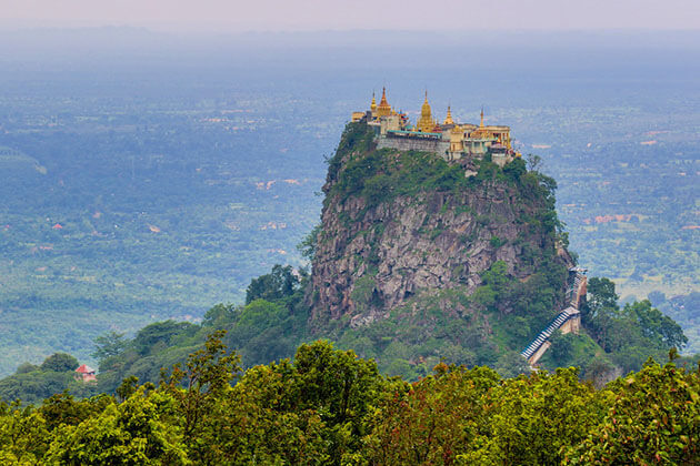 Mt. Popa - the sacred religious site in myanmar