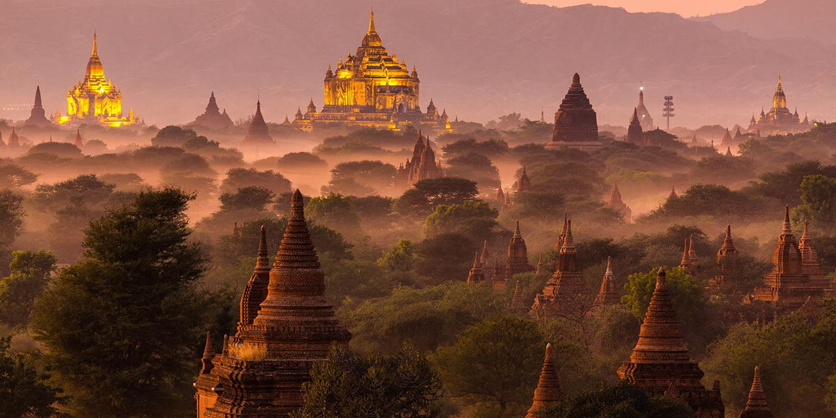 Myanmar classic tours and holiday packages from india