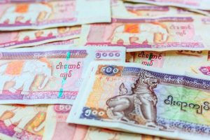 Myanmar currency exchange rate to INR
