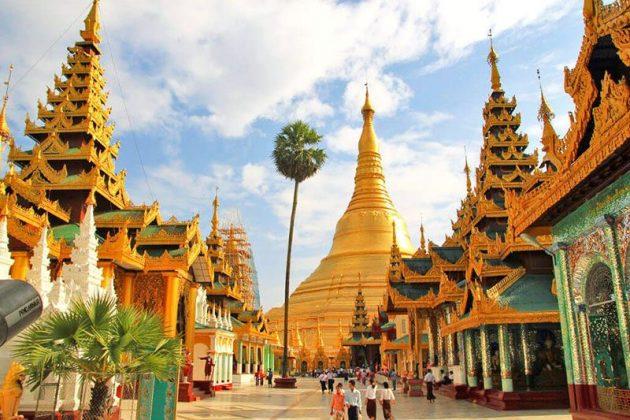 Myanmar honeymoon