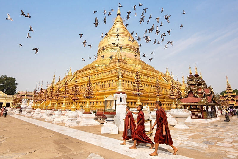 Myanmar tour packages - multi country tours