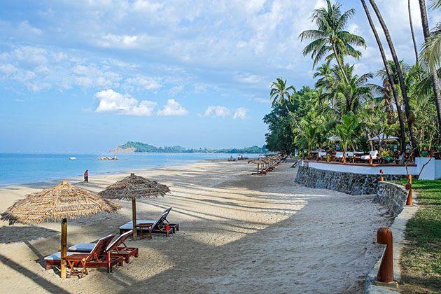 Ngapali Beach - myanmar beach holiday