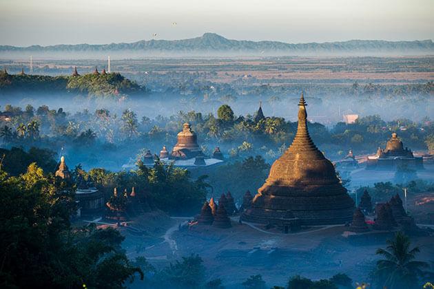 Rakhine State in Myanmar