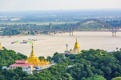 Sagaing hill - impressive myanmar holiday package
