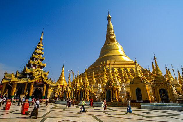 Shwedagon Pagoda - highlight of myanmar trip