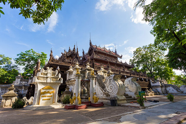 Shwenandaw Monastery - famous place to visit in mandalay
