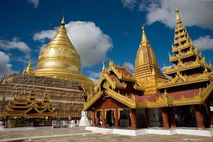Shwezion pagoda - myanmar family trip