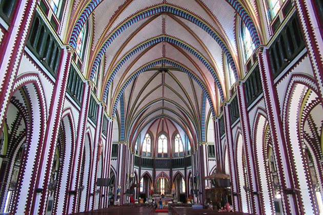 St Mary's Cathedral in Yangon