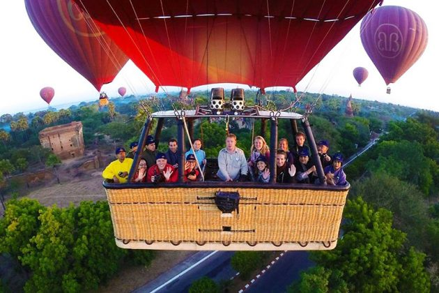 Taste of Bagan Family Trip