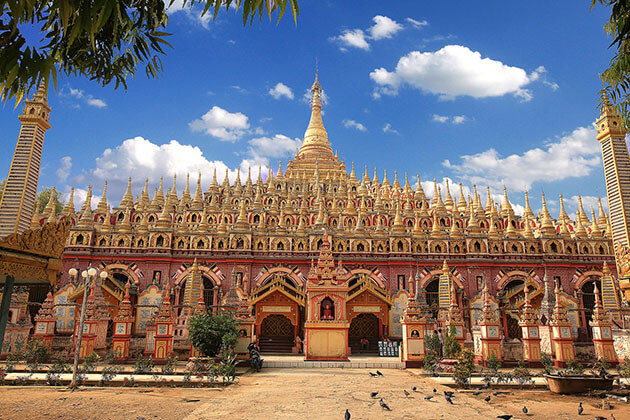 Thanboddhay Pagoda in Monywa