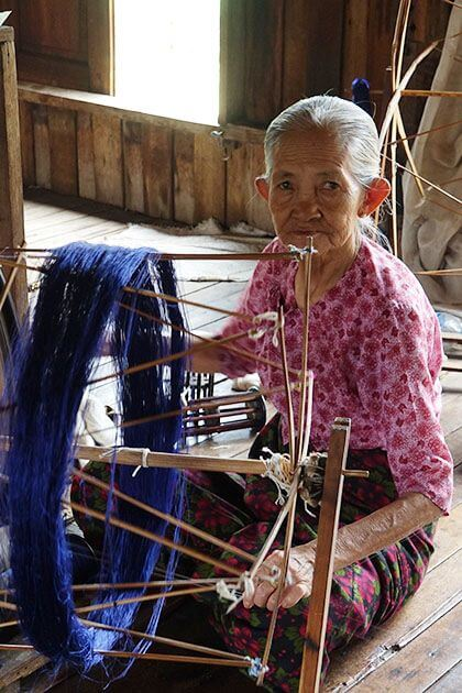 Traditional craft in Myanmar trip packages for Indian
