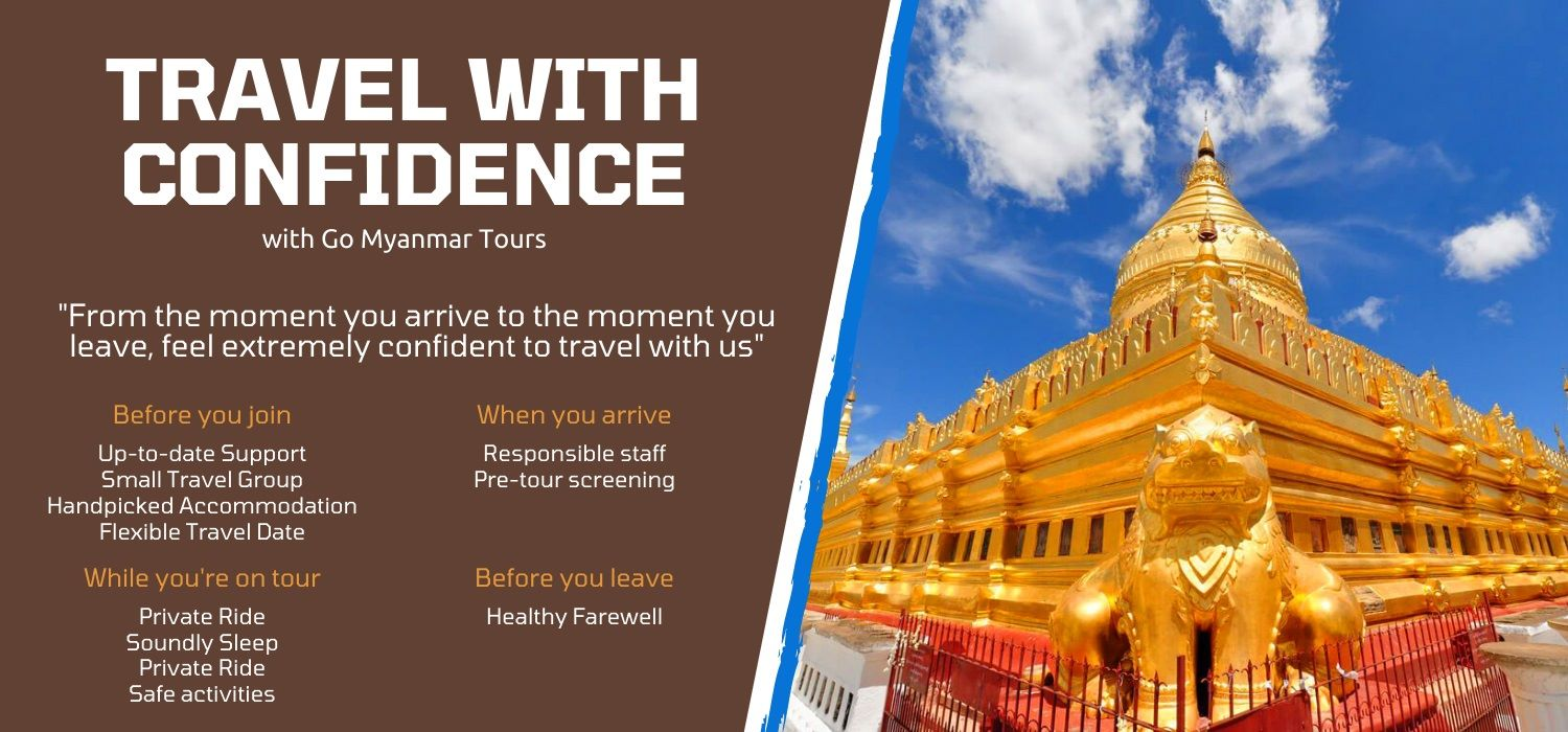 Travel myanmar tours from india with extreme confidence