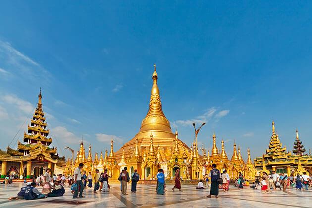 Yangon - best myanmar attractions