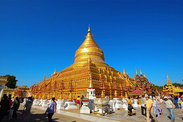 bagan Shwezigon Pagoda pagoda