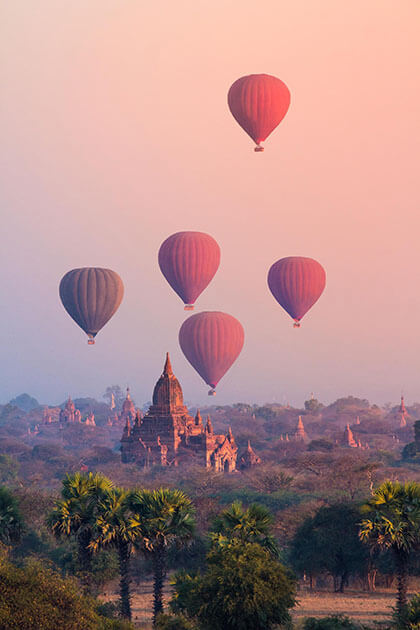 heritage sites attractions for Myanmar trips