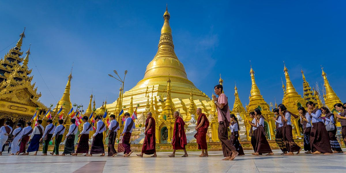 myanmar family tours from india