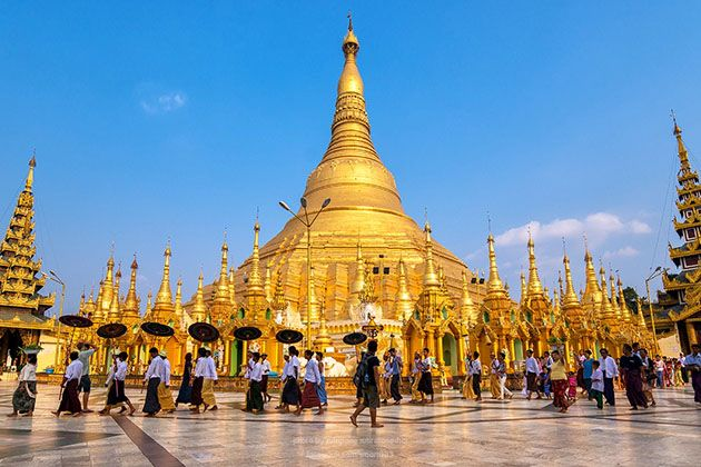 myanmar weather in january