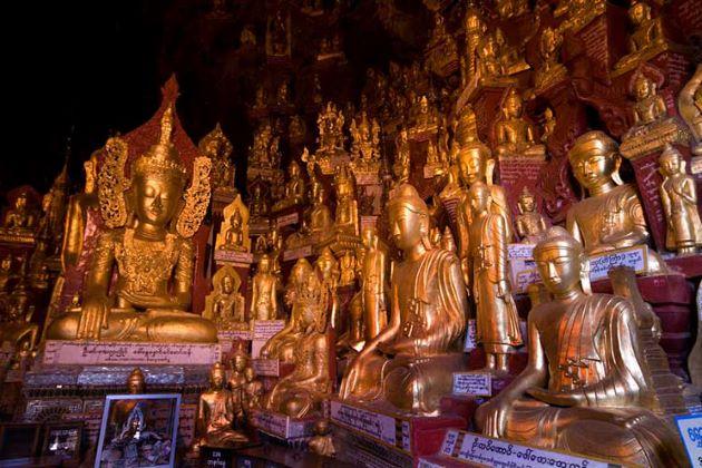 pindaya cave in burma