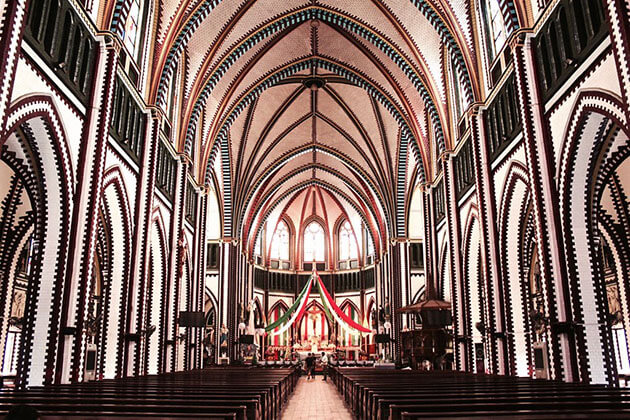 the St Mary's Cathedral in Yangon