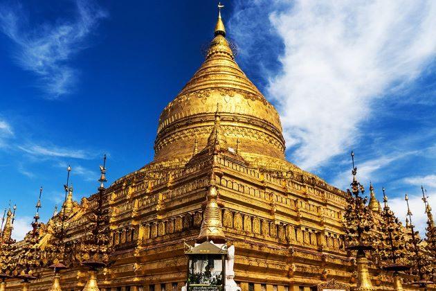 visit Shwezigon Pagoda in myanmar